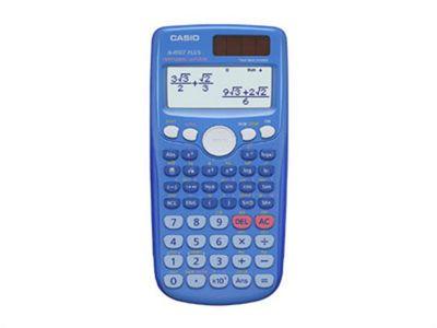 Casio FX-85GTPLUS Pocket Scientific calculator Blue 10 + 2 Digits 1 x AAA