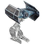 Hot Wheels Star Wars Die Cast TIE Advanced X1 Prototype Vehicle