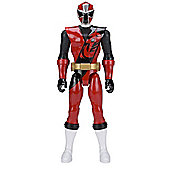 "Power Rangers Ninja Steel 30"" Red Ranger Figure"