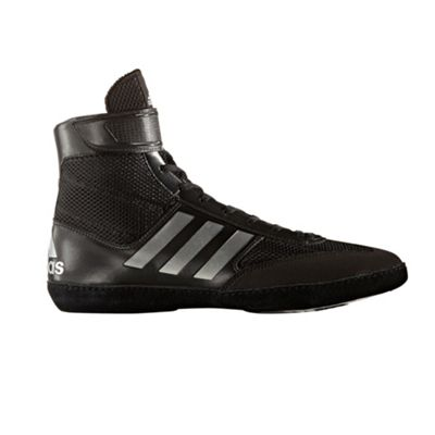 adidas Combat Speed 5 Mens Adult Wrestling Trainer Shoe Boot Black - UK 9.5