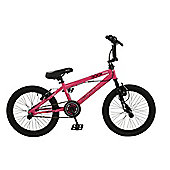 "Zombie Sting 18"" Wheel 360 Gyro Freestyle BMX Bike Pink"
