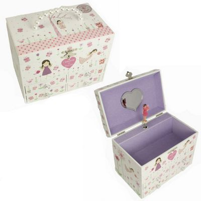 Children's Musical Jewellery Box - Flower Fairy | Children's Gifts