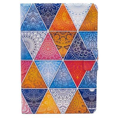 iPad Mini 1 / 2 / 3 Bright Multicoloured Geometric Mandala Cover Case