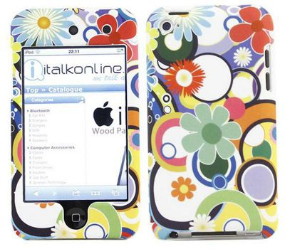 iTALKonline 16756 Potpuri SnapGuard Protection Case & Screen Protector for Apple iPod Touch 4G