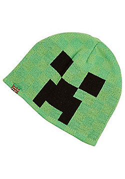 Minecraft Beanie Hat - Lime green