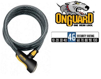 OnGuard Akita 8036 Cable Lock (185cm x 20mm)