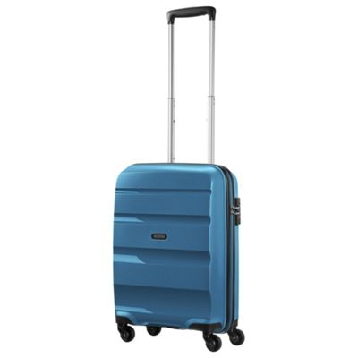 American Tourister Bon Air Cabin 4 Wheel Seaport Blue Suitcase