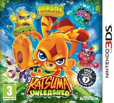 Moshi Monsters - Katsuma Unleashed (3DS)