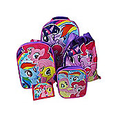 My Little Pony 5 Piece Trolley Bag Luggage Set
