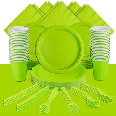Kiwi Green Deluxe Party Pack for 60