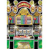 Scene Setters Casino Slot Machine Room Roll