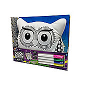 Grafix Doodle Buddy Pillow Pal Owl