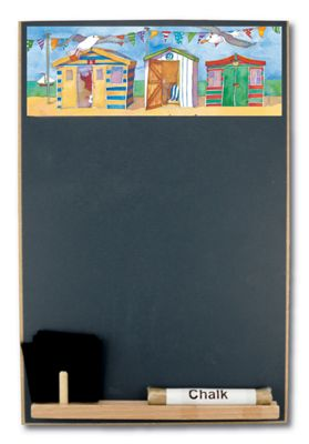Booth Design A4 Chalkboard Seaside