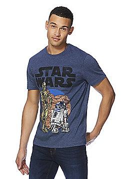 Star Wars Retro Graphic T-Shirt - Denim