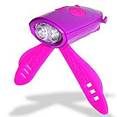 Mini Hornit Purple/Pink Lights & 25 Sounds for Bike & Scooter