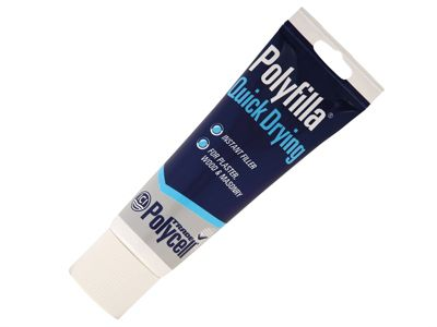Polycell Trade Quick Dry Polyfilla Tube 330g