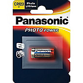 Panasonic CR123 Photo Power 3V Lithium Camera Photo Battery