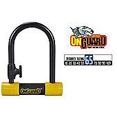 OnGuard Bulldog 8013 Shackle Mini D Lock Bike