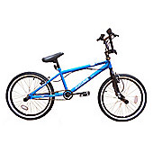 "Zombie Thug BMX Bike 20"" Wheel Blue/Black"