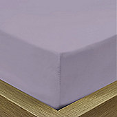 Julian Charles Luxury 180 Thread Count Fitted Sheet - Purple