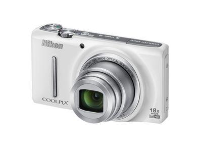 Nikon Coolpix S9400 Digital Camera, White 18MP 18x Zoom 3.0 inch LCD screen
