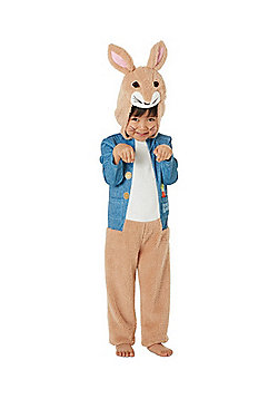 Beatrix Potter Peter Rabbit Fancy Dress Costume - Brown