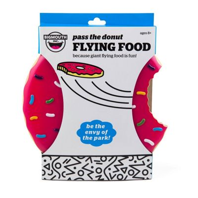 Big Mouth Flying Food Frisbee DONUT