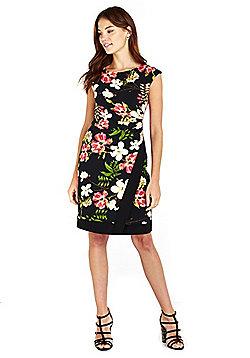 Wallis Floral Print Wrap Dress - Multi