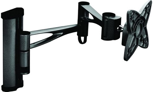 Iconic Black Vesa Swing Arm wall bracket up to 22 inch TV s