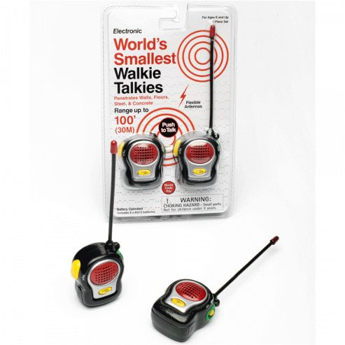 Funtime World's Smallest Walkie