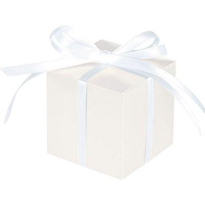 White Cube Favour Boxes