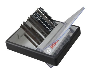 Bosch 2607010540 Robust Line Wood Jigsaw Blade Set 10 Piece