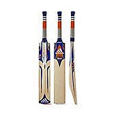 adidas Libro CX Junior English Willow Cricket Bat Blue/ Orange/ White - Harrow