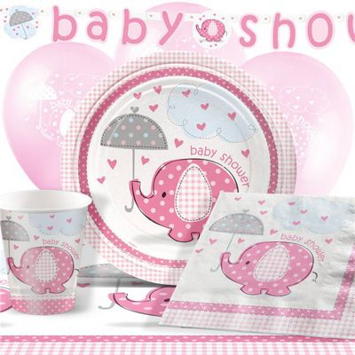Umbrellaphants Pink Party Pack - Deluxe Pack for 8