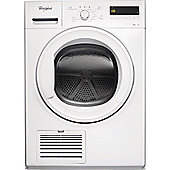 Whirlpool DDLX90110 9kg Condenser Tumble Dryer, White