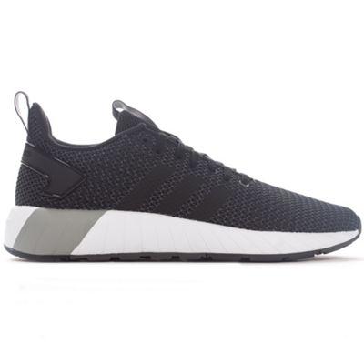 adidas Questar BYD Mens Fashion Trainer Shoe Black/White - UK 11