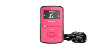 SanDisk Clip Jam Pink 8 GB MP3 Player