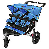 Out n About Nipper Double Pushchair V4, Lagoon Blue