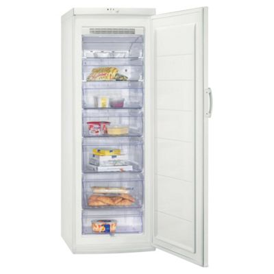 Zanussi ZFU727FW Tall Freezer, Energy Rating: A+, Width 59.5cm. White