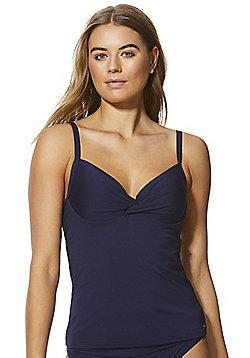 F&F Shaping Swimwear Tankini Top - Navy