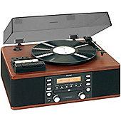 Teac LPR500 Vinyl and Cassette Copystation in Wood Finish