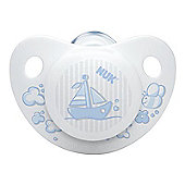NUK Rose & Blue Soother (6-18m) (Blue)