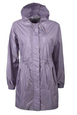 Breeze Womens Water Resistant Lightweight Hooded Rain Coat Jacket