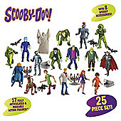 SCOOBY DOO MYSTERY CREW AND MONSTERS SET