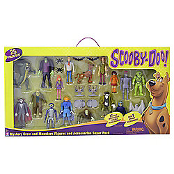 Scooby Doo Mystery Crew and Monsters Action Figure Set