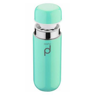 Grunwerg Drinkpod Vacuum Flask, 0.2L, Blue