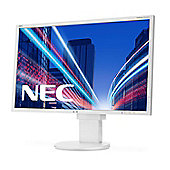 "NEC MultiSync EA224WMi 21.5"" Full HD IPS White computer monitor"