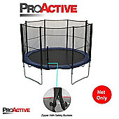ProActive 12ft Trampoline Safety Netting (Net Only) - For Trampoline With 8 Poles