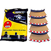 Scalextric C8225 4X Rad2 Inner Borders Barriers