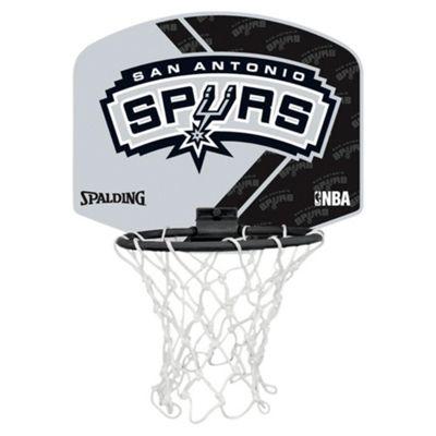 Spalding NBA Team Mini Basketball Set - San Antonio Spur